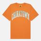 Мужская футболка Chinatown Market Bling Arc Orange фото - 0