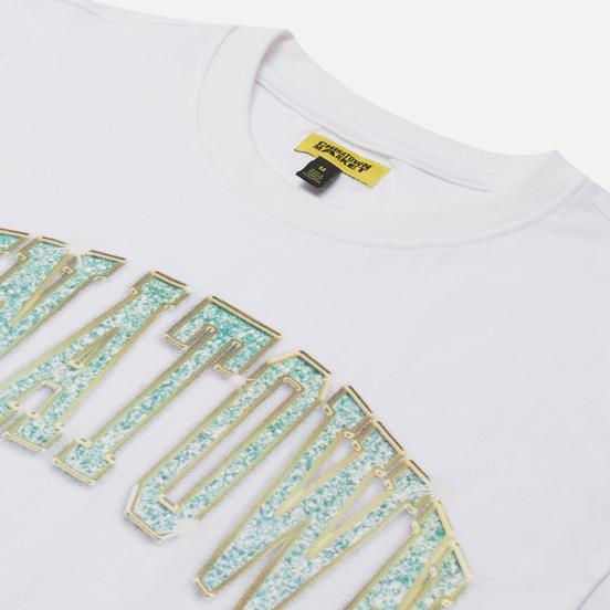 Мужская футболка Chinatown Market Bling Arc White