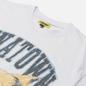 Мужская футболка Chinatown Market Beware Sketch White фото - 1