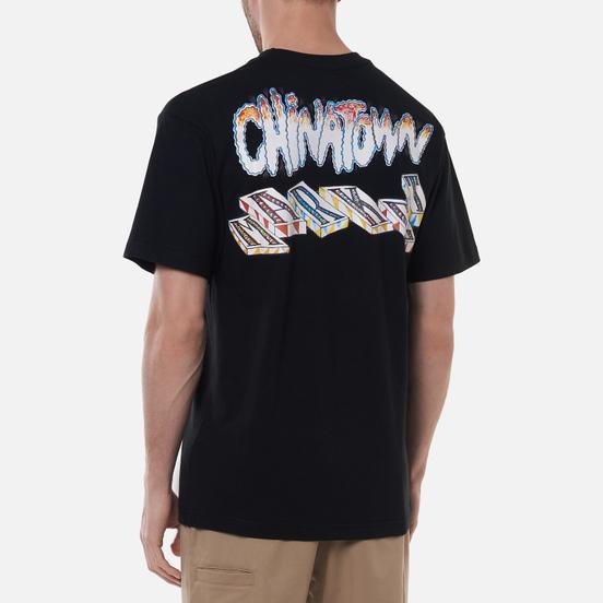Мужская футболка Chinatown Market Chinatown Block Black