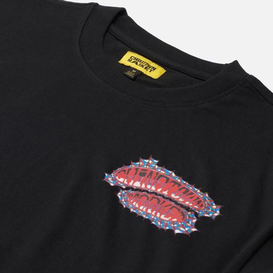 Мужская футболка Chinatown Market Pop Rocket Black