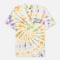 Мужская футболка Chinatown Market Block Tie-Dye Spiral Tie Dye фото - 0