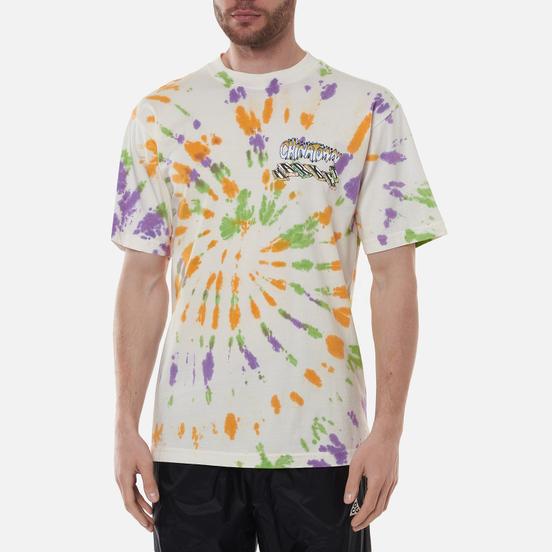 Мужская футболка Chinatown Market Block Tie-Dye Spiral Tie Dye