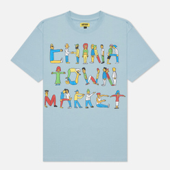 Мужская футболка Chinatown Market City Aerobics Baby Blue