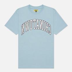 Мужская футболка Chinatown Market Reverse Arc Baby Blue