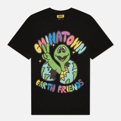 Мужская футболка Chinatown Market Earth Friends Black