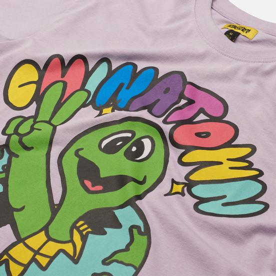 Мужская футболка Chinatown Market Earth Friends Purple