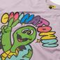 Мужская футболка Chinatown Market Earth Friends Purple фото - 1