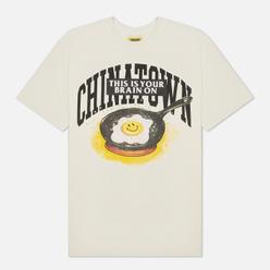 Мужская футболка Chinatown Market Smiley Brain On Fried Cream