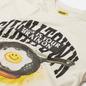 Мужская футболка Chinatown Market Smiley Brain On Fried Cream фото - 1