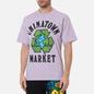 Мужская футболка Chinatown Market Recycle Global Purple фото - 2