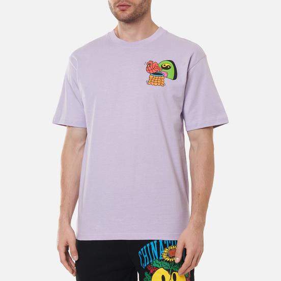 Мужская футболка Chinatown Market Dawg Days Purple