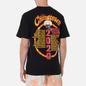 Мужская футболка Chinatown Market Skelly World Tour Black фото - 4