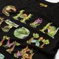 Мужская футболка Chinatown Market Watercolor Sea Creatures Black фото - 1