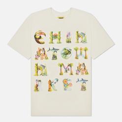 Мужская футболка Chinatown Market Watercolor Sea Creatures Cream