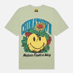 Мужская футболка Chinatown Market Smiley Planter Tea Green