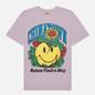 Мужская футболка Chinatown Market Smiley Planter Purple фото - 0