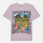 Мужская футболка Chinatown Market Mad Riddim Purple фото - 0