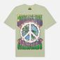 Мужская футболка Chinatown Market Peace On Earth Clouds Tea Green фото - 0