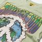 Мужская футболка Chinatown Market Peace On Earth Clouds Tea Green фото - 1
