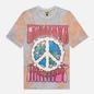 Мужская футболка Chinatown Market Peace On Earth Tie-Dye Tie Dye фото - 0