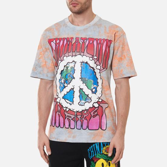 Мужская футболка Chinatown Market Peace On Earth Tie-Dye Tie Dye