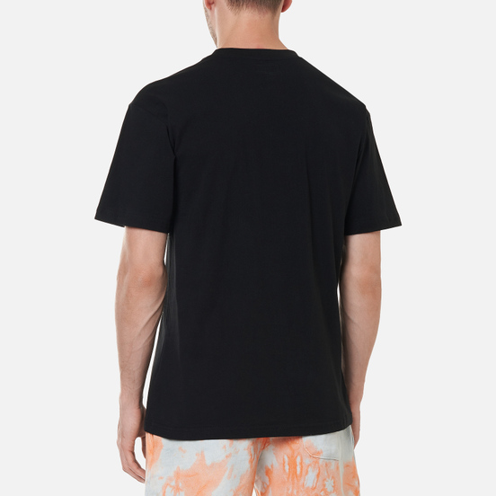Мужская футболка Chinatown Market Watercolor Arc Black