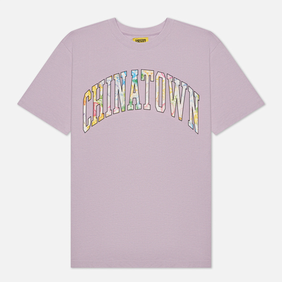 Мужская футболка Chinatown Market Watercolor Arc Purple