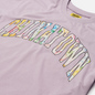 Мужская футболка Chinatown Market Watercolor Arc Purple фото - 1