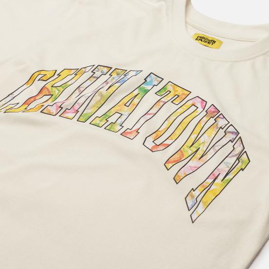 Мужская футболка Chinatown Market Watercolor Arc Cream