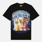 Мужская футболка Chinatown Market Dawg Lightning Arc Black фото - 0
