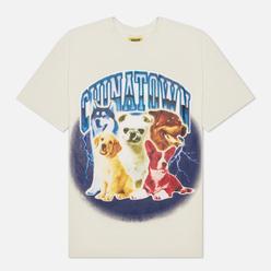 Мужская футболка Chinatown Market Dawg Lightning Arc Cream