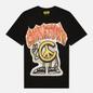 Мужская футболка Chinatown Market Peace Guy Flame Arc Black фото - 0