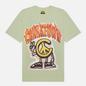 Мужская футболка Chinatown Market Peace Guy Flame Arc Tea Green фото - 0