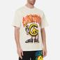 Мужская футболка Chinatown Market Peace Guy Flame Arc Cream фото - 2