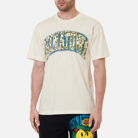 Мужская футболка Chinatown Market Chinatown Arc Island Cream