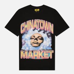 Мужская футболка Chinatown Market Through The Foam Black