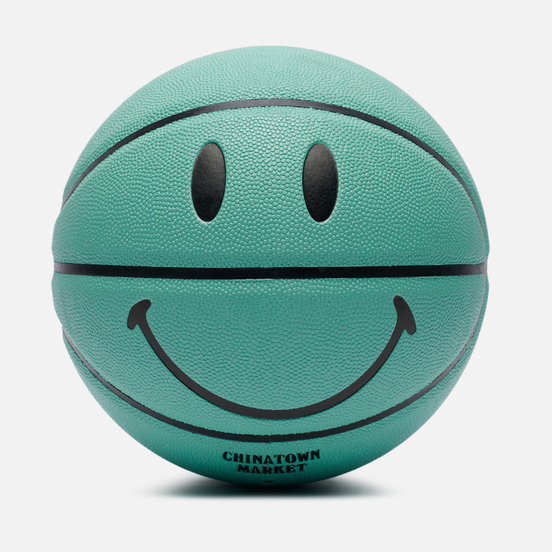 Баскетбольный мяч Chinatown Market Smiley Breakfast Teal