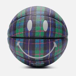 Баскетбольный мяч Chinatown Market Smiley Ivy League Tartan Tartan