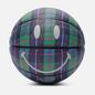 Баскетбольный мяч Chinatown Market Smiley Ivy League Tartan Tartan фото - 0