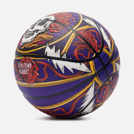 Баскетбольный мяч Chinatown Market x Grateful Dead Border Bandana Multicolor