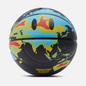 Баскетбольный мяч Chinatown Market Smiley Global Citizen Heat Map Black фото - 0