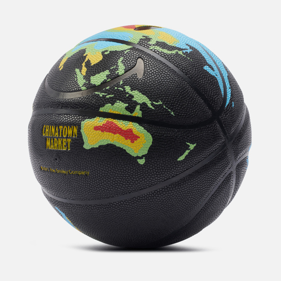 Баскетбольный мяч Chinatown Market Smiley Global Citizen Heat Map Black