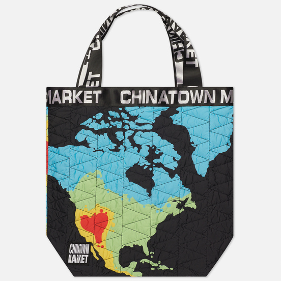Сумка Chinatown Market Global Citizen Heat Map Tote Black