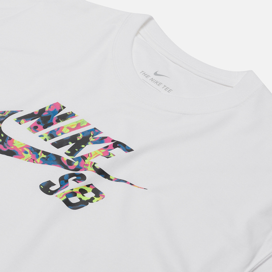 Мужская футболка Nike SB QS 2 White/Multi Color
