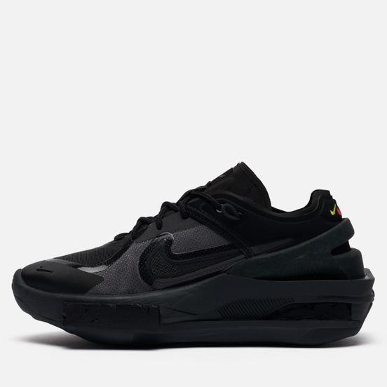 Женские кроссовки Nike Fontanka EDGE Black/Black/Off Noir/University Red