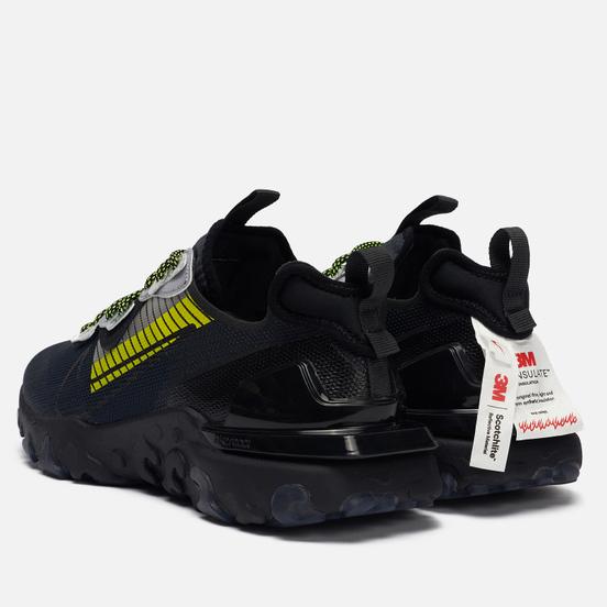 Мужские кроссовки Nike x 3M React Vision Premium Anthracite/Black/Volt