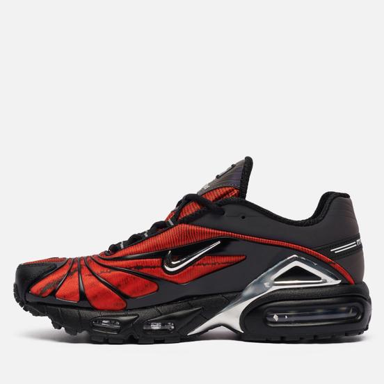 Кроссовки Nike x Skepta Air Max Tailwind V Bloody Chrome Black/Chrome/Red