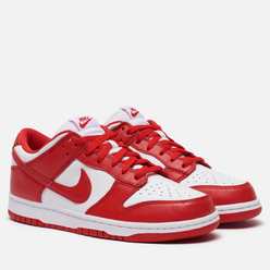 Мужские кроссовки Nike Dunk Low SP University Red White/University Red
