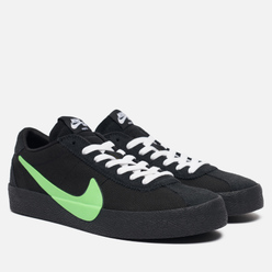 Кроссовки Nike SB x The Poets Bruin QS Black/Voltage Green/White